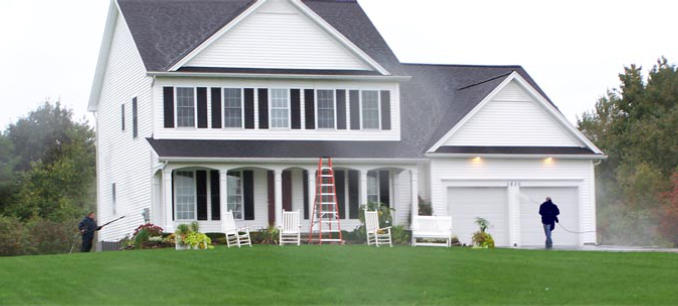 Exterior House Cleaning Service Rochester - Power washing - House Wash